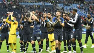 FIFA World Cup 2018 France and Belgium Photo Gallery - Sakshi