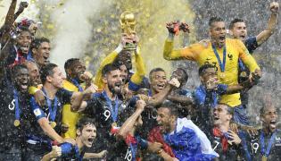 FIFA World Cup 2018 France VS Croatia Final Match Photo Gallery - Sakshi