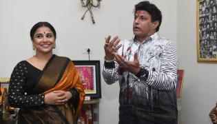 Vidya Balan Meets Balakrishna NTR Family Photo Gallery - Sakshi