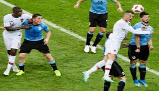 Edinson Cavani sends Uruguay to World Cup last eight as Portugal bow out Photo Gallery - Sakshi