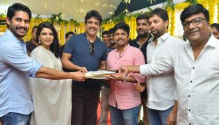 Samantha,Naga Chaitanya New Movie opening PHoto Gallery - Sakshi