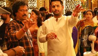 Srinivasa Kalyanam Movie Working Stills - Sakshi