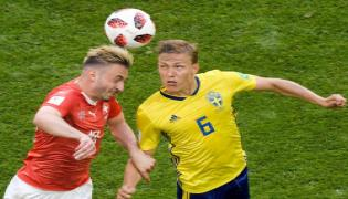 Sweden beat Switzerland 1-0 to enter quarters Photo Gallery - Sakshi
