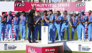 England Vs India T20 Match Photo Gallery - Sakshi