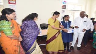 Health hygiene scheme launched at Raj Bhavan school Photo Gallery - Sakshi