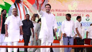 Congress President Rahul Gandhi Visit to Hyderabad Photo Gallery - Sakshi