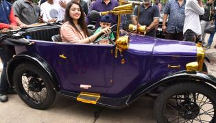 Vintage Cars Collection IN Hyderabad Photo Gallery - Sakshi