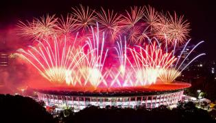 Asian Games 2018 Opening Ceremony Photo Gallery - Sakshi