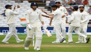 India Beat England By 203 Runs Photo Gallery - Sakshi