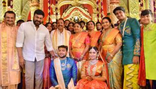 Celebs at Bandla Ganesh Brother Daughter Wedding Photo Gallery - Sakshi