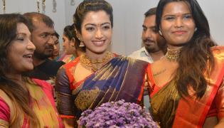 Rashmika Mandanna launched Mugdha Showroom Photo Gallery - Sakshi