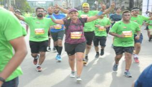 Airtel Hyderabad Marathon 2018 Photo Gallery - Sakshi