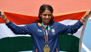 Asian Games 2018 India Medals Photo Gallery - Sakshi