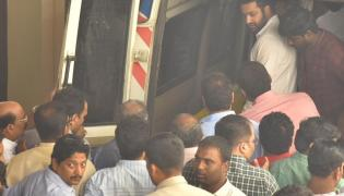 Nandamuri Hari Krishna Body Shifted to His House in Hyderabad - Sakshi