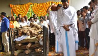 Nandamuri Harikrishna Funerals Completed Photo Gallery - Sakshi