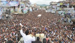 ys jagan prajasankalpayatra photos Chodavaram visakhapatanam - Sakshi