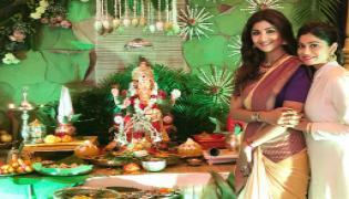 Celebrities at Ganesh Chaturthi Celebrations Photo Gallery - Sakshi