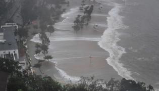 Typhoon Mangkhut hits China Photo Gallery - Sakshi