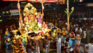 Srivari Garuda Vahana Seva in Tirumala Photo Gallery - Sakshi
