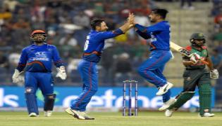 Afghanistan Beat Bangladesh By 136 Runs - Sakshi