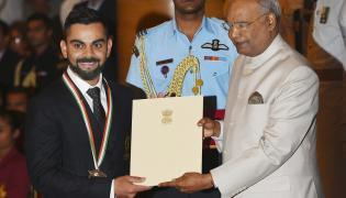 National Sports and Adventure Awards in New Delhi Photo Gallery - Sakshi