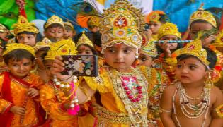 Krishna Janmashtami Celebrations Photo Gallery - Sakshi