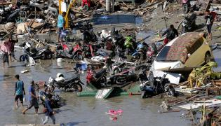 Earthquake and Tsunami in Indonesia Photo Gallery - Sakshi