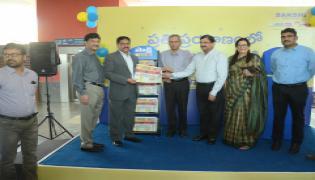 Sakshi News Paper in Hyderabad Metro Stations Photo Gallery - Sakshi