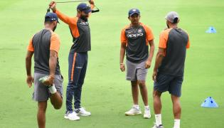 India VS West Indies Practice Session In Hyderabad Photo Gallery - Sakshi