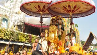 Simha Vahanam in Tirumala Photo Gallery - Sakshi