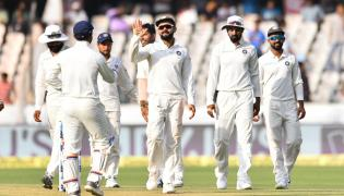 India VS West Indies 2nd Test Day 1 at Hyderabad Photo Gallery - Sakshi