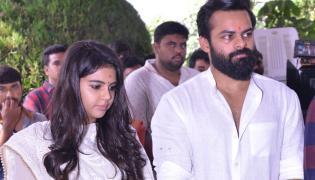 Sai Dharam Tej Chitralahari Movie Launch Stills - Sakshi