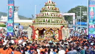 Tirumala Brahmotsavalu Pushpaka Vimana Vahana Seva Photo Gallery - Sakshi