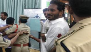 Attack On YS Jagan Mohan Reddy At Visakhapatnam Airport Photo Gallery - Sakshi