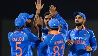 India VS West Indies 4th ODI Photo Gallery at Mumbai - Sakshi