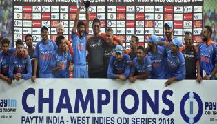 Indian vs West Indies final Match Photo Gallery - Sakshi
