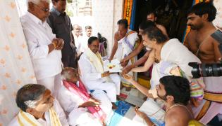 KCR And Harish Rao File Nomination Papers Photo Gallery - Sakshi