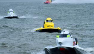 F1H2O Power Boat Race at Vijayawada Photo Gallery - Sakshi
