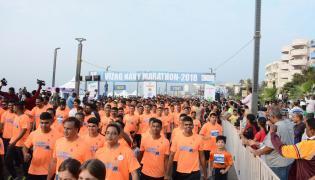 Vizag Navy Marathon 2018 Photo Gallery - Sakshi