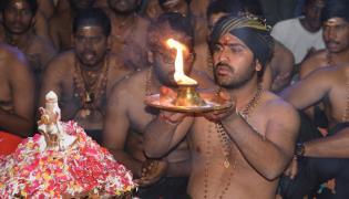 Sharwanand Mahapadi Pooja to Ayyappa Swamy Photo Gallery - Sakshi