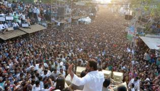 YS jagan padayatra at Vizianagaram photo gallery - Sakshi