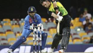 Australia vs India First T20 Match Photo Gallery - Sakshi
