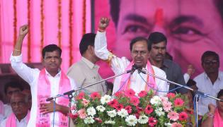 TRS Public Meeting In Suryapet Photo Gallery - Sakshi