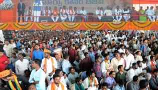 pm Narendra modi addresses public meeting in nizamabad and mahabubnagar photo Gallery  - Sakshi