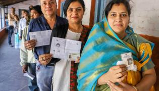 Madhya Pradesh and Mizoram polling Photo Gallery - Sakshi
