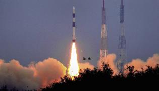 ISRO PSLV C43 Launch Photo Gallery - Sakshi