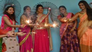 Diwali Celebration at Phankar Ladies Club Photo Gallery - Sakshi