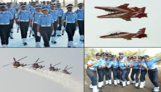 Indian Air Force Academy Passing Out Parade in Dundigal Photo Gallery - Sakshi