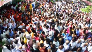 Heavy Rush Pilgrims At Tirumala Photo Gallery - Sakshi