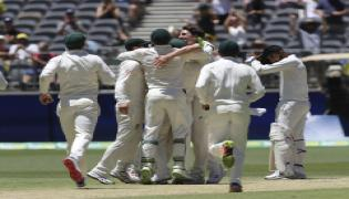 Australia won by 146 Runs in Perth Test Against India Photo Gallery - Sakshi